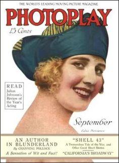 Silent Movie Magazine - Photoplay Magazine - Edna Purviance Star Magazine, Movie Magazine, Classic Movie Posters, Classic Movies, Old Magazines, Vintage Magazines, Edna Purviance, Silent Film, Vintage Movies