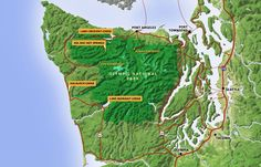 Sol Duc Campground & RV Park - Olympic National Parks Camping in Washington