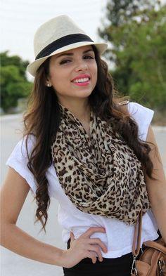 Chiffon Leopard Print Scarves,Long Leopard Print Scarves for Girls, #leopard #scarf #chiffon #girls www.loveitsomuch.com