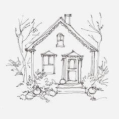 Sketchbook Wandering: Halloween Card, The (Happy) Distraction