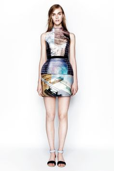 Mary Katrantzou Resort 2014 - Review - Fashion Week - Runway, Fashion Shows and Collections - Vogue