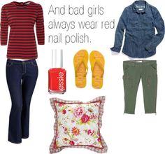 """""""1 X 02 The Lorelais' First Day at Chilton"""" by faedissey on Polyvore"""