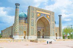 ウズベキスタンの古都「サマルカンド」