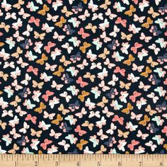 Designed by Maureen Cracknell for Art Gallery Fabrics, this lightweight stretch cotton jersey knit is perfect for making t-shirts, loungewear, leggings, children's apparel, knit dresses and more! It features a soft hand and about a 50% four way stretch for added comfort and ease. Colors include charcoal, peach, coral, white, mint, and mustard.