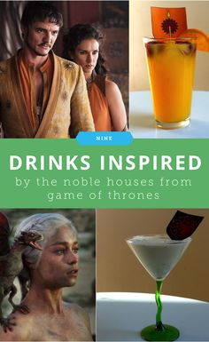 9 Drinks Inspired by the Noble Houses From Game of Thrones