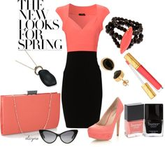 """""""Date Night"""" by elayne-forgie ❤ liked on Polyvore"""