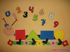 Top 40 Examples for Handmade Paper Events - Everything About Kindergarten Board Decoration, Class Decoration, School Decorations, Room Decorations, Preschool Decor, Preschool Activities, Preschool Shapes, Toddler Classroom, Preschool Classroom
