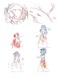 "FX design from the animated series ""Avatar: The Last Air Bender"""
