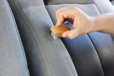 How to Clean Suede Car Seats (with Pictures) Cheap Infant Car Seats, Toddler Car Seat, Baby Car Seats, How To Clean Suade, Clean Suede, Car Cleaning Hacks, Cleaning Recipes, Hair Without Heat, Suede Cleaner
