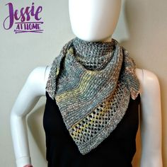 The Prince Wrap is a small, unisex, triangular wrap. Designed at an easy skill level it's quick to make, yet lovely to look at. This is a free knit pattern.