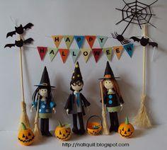 Halloween quilling