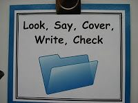 What is Look, Cover, Write, Check?