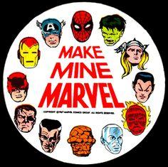 Make Mine Marvel pin