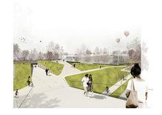 Concurso Parque y Centro de Exposiciones y Convenciones on Behance