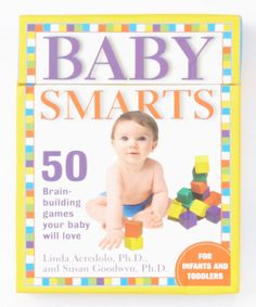 Loving this Baby Smarts Activity Card Set on #zulily! #zulilyfinds