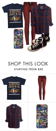"""""""Untitled #334"""" by the-indie-rock-queen ❤ liked on Polyvore featuring STELLA McCARTNEY, Marvel Comics and Converse"""