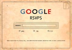 Many wedding website or paperless invitation services offer a built-in RSVP tool, which is fabulous. However, if you're looking for a free DIY option, look no further than the much-lauded Google Do...