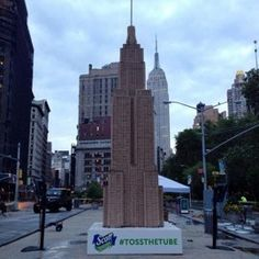 Did You See the Empire State Building Made of Toilet Paper Tubes? — Design News