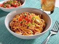 Spaghetti with Tomatoes, Black Olives, Garlic, and Feta Cheese Recipe - Quick From Scratch Pasta   Food & Wine