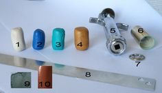 Shape, Shade and Color: Clay gun Experiment - day one of 366 creative days