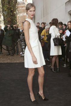 Celeb Diary: Karlie Kloss at the Dior Men's Fashion Show in Paris