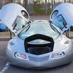 Mike Vetter Extra Terrestrial Vehicle Kit Car ETV open doors