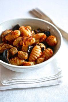Gnocchis tomate et aubergine - savoir-cuisiner.fr