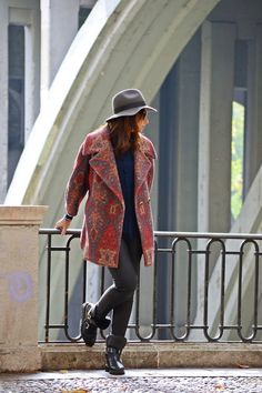 el blog de silvia rodriguez street style: Oversized coat #kissmylook