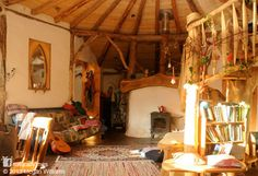 "This is a beautiful straw bale roundhouse in Pembrokeshire, Wales. Pembrokeshire County Council has issued an enforcement notice saying the property is, ""harmful to the rural character of the locality"" and must be demolished. Click the picture to read the full story and help save this home. More on www.naturalhomes.org"