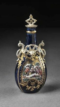 Scent bottle and stopper | Chelsea Porcelain factory | V&A Search the Collections http://m.vam.ac.uk/collections/item/O336949/scent-bottle-and-chelsea-porcelain-factory/