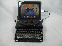 USB ipad typewriter