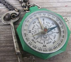 vintage girl scout compass.  Used this on several occasions.