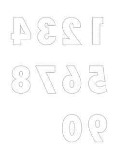 Free Printable Letters: Cut Outs for Scrapbook and
