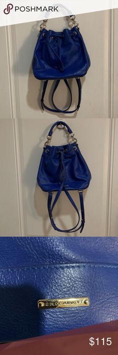Rebecca Minkoff Fiona Convertible Backpack Beautiful and multifunctional bag  by Rebecca Minkoff You can use as 0befa8ed045bd