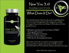 You gotta check this out!!!  Did you know that when we hit 30 yrs old are bodys stop producing the human growth hormone. This Helps stimulates #human growth hormones. My story with this after taking New You my hair is growing back and my sleep is deeper than it use to be. AMAZING!!!!  https://shelleygladden.myitworks.com