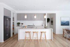 Caesarstone, 4023 Topus Concrete, Boutique Homes Victoria Home Decor Kitchen, Kitchen Interior, Home Kitchens, Küchen Design, House Design, Interior Design, Design Ideas, Boutique Homes, A Boutique