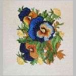 BFC-Creations Embroidery Designs Pansies