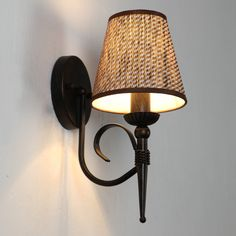 American Village Loft Industrial Edison Style Vintage Wall Light Lamp, Retro Water Pipe Lamp Wall Sconce Free Shipping