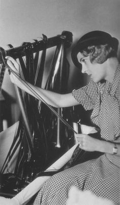 The film editor is one of the unsung heroes of every film and it was one important behind-the-scenes job open to women early in the industry's history.