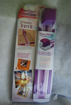 Great Product for paper triming and edging. Craft Paper Punches, Cow Craft, Paper Trimmer, Purple Cow, Product Review, Cows, Holiday Cards, Paper Crafts, Craft Ideas