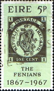 Eire Ireland 1967 The Fenians Fine Used SG 235 Scott 238 Other European and British Commonwealth Stamps HERE!