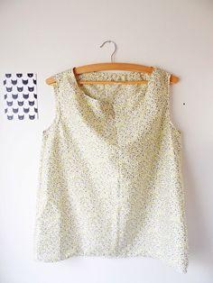 Tuto couture : un débardeur léger pour l'été ! | Vie de tissus