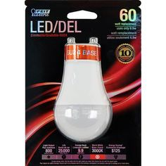 Feit Electric LED Light Bulb W Equivalent) 3000 Kelvins Pin Base Dimmable Warm White Indoor Led Bulb Energy Use, Save Energy, Canada Online, Lowe's Canada, Led Shop Lights, Electric, Color Box, Wine Decanter, Ultra Violet