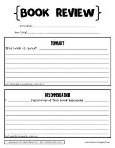 Homework Center: Writing a Book Report - Fact Monster