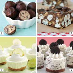 Whether you love the August heat or hate it, you're probably not too into turning on the oven right around now. I mean, no one wants a heat wave inside of the house too, right?! : ) Time to break out some amazing no-bake dessert recipes! ...