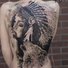 new school sparrow tattoo, unique back tattoos for women, tattoos for mens arms designs - Tattoo MAG Cool Back Tattoos, Trendy Tattoos, Cute Tattoos, Tattoos For Women, Tattoos For Guys, Ladies Tattoos, Back Piece Tattoo, Beautiful Tattoos, Native American Tattoos