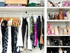 How To Organize Your Closet In Five Simple Steps(Seriously!)