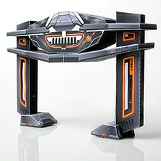 Tron Legacy Recognizer Hover Papercraft