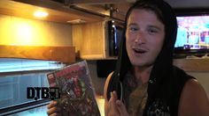 The rock band, Get Scared, gives you a tour of their bus during Warped Tour 2014!