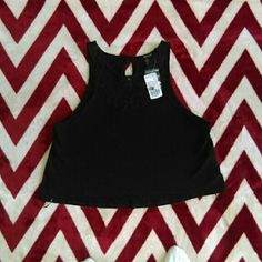 NWT TUNIC TANK Brand new with tags Replaceable Button included Price is FIRM Forever 21 Tops